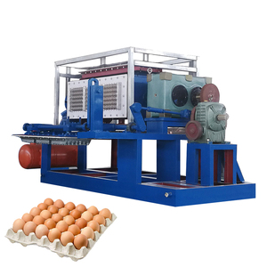 Factory Supply Full Automatic Low Price Waste Paper Recycle Pulp Forming Egg Carton Making Machine