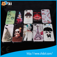 High quality flower design UV printing 3D mobile phone case for iphone 6