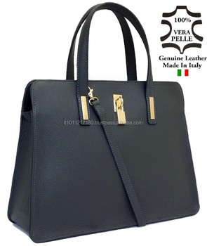 Genuine Leather Bags Real Leather Handbag Made In Italy Italian ...