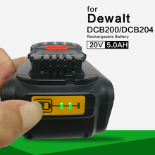 Power tool battery for DeWalt battery DCB200 DCB201