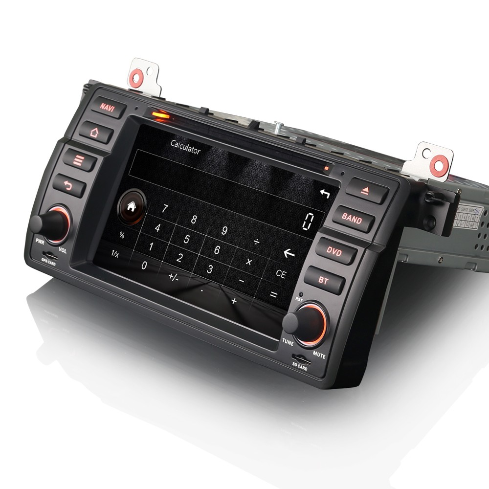 erisin es7146b 7 cran tactile voiture radio dvd gps syst me de navigation vid o auto id de. Black Bedroom Furniture Sets. Home Design Ideas