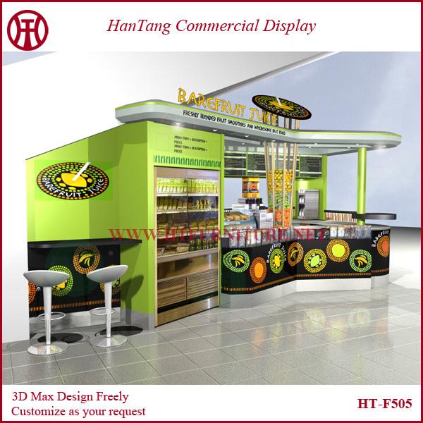 Mall Indoor Juice Kiosk 2016 Juice Bar Counter Buy Juice