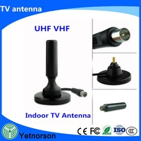 High quality! Universal car digital satellite tv antenna booster for DVB-T FM AM Radio Windshield Mount with Amplifier