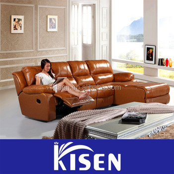 Living Room Furniture Leather Recliner Oriental Sofas