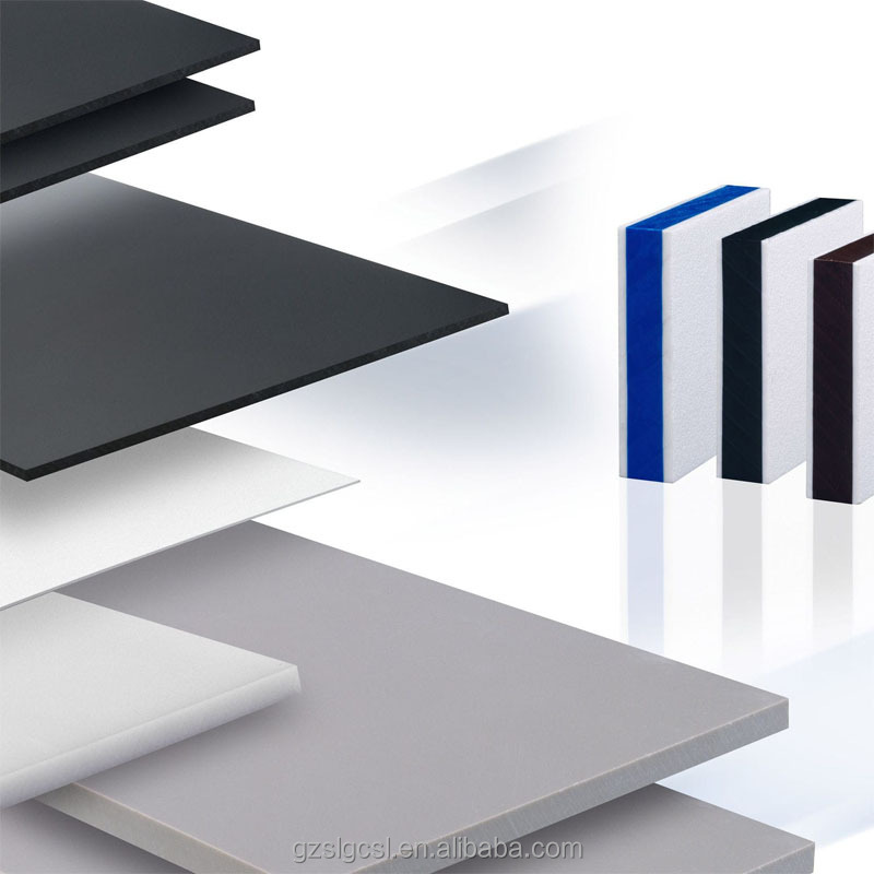 China Professional Manufacturer colored plastic rigid pvc sheet