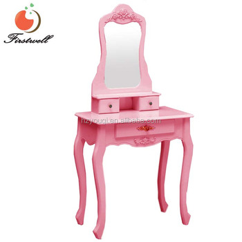 . French Cheap Antique Modern Vanity Makeup Dressing Table Set With Mirror    Buy French Dressing Table Modern Dressing Table Antique Vanity Dressing