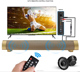 Hot Cheap Wired and Wireless Portable Bluetooth Speaker Small TV Sound Bar for Home,Outdoor, Travel