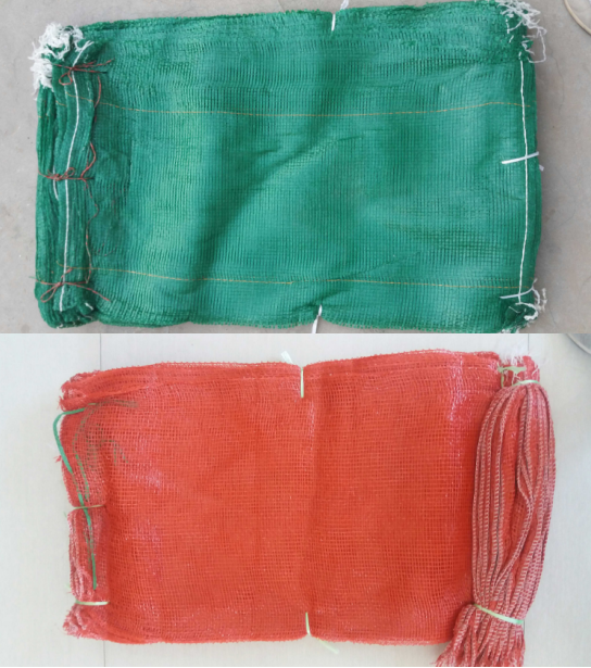 Hot sale small fruit mesh net bags for garlic/onion/fruit wholesale