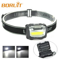 300LM COB Mini LED Portable Headlamp for Kids