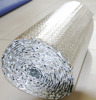 Waterproof aluminum foil laminated pe bubble insulation, bubble foil faced insulation