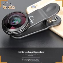 210 degree10mm full screen super fisheye Lens for iPhone and all smartphones