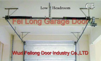 Low Headroom Garage Door European Union Ce Certificate