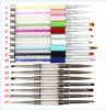 17 pcs Professional Nail Art Brush Set Line Drawing Painting Pen UV Gel Polish Designs Acrylic Perfect Manicure Books On Tools