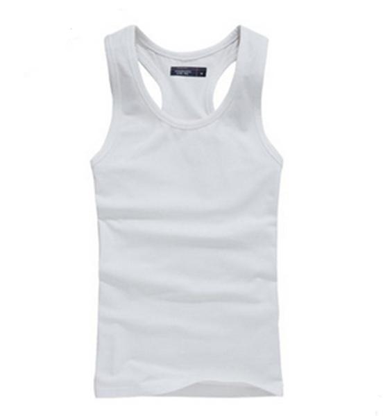 446d31ea3d02c wholesale mens plain white tank tops design your own vest china import tank  tops no label
