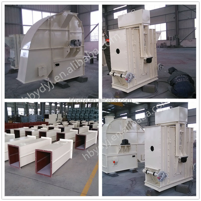 Grain bucket elevator equipment used in silo system