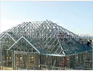 Steel structure roof trusses design buy steel structure for Order roof trusses online