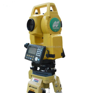 Powerful measure system gts1002 used topcon total station for sale