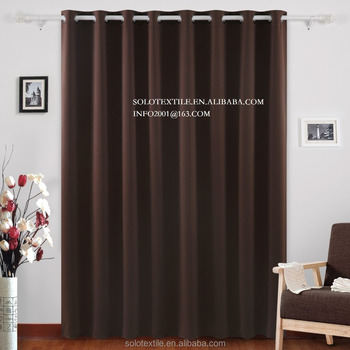 Wide Thermal Blackout Patio Door Curtain Panel Sliding Curtains Antique Bronze Grommet Top