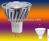 2012 iBright zhongshan white enegy saving new style wholesale price indoor lighting glass 3w gu10 led lamp cup