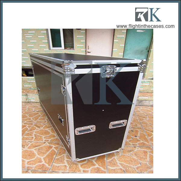 2016 hot sale rk flight case for multiple guitar road case gibson les paul custom fender guitar
