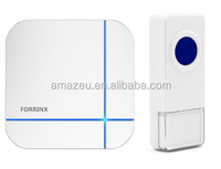 wireless door chime for business,visitors doorbell, long range remote ring chime