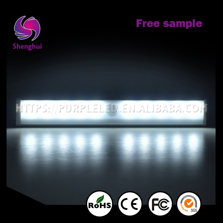 ShengHui Factory Directly Provide Good Quality 10 LED Motion Sensor Light for indoor Lighting