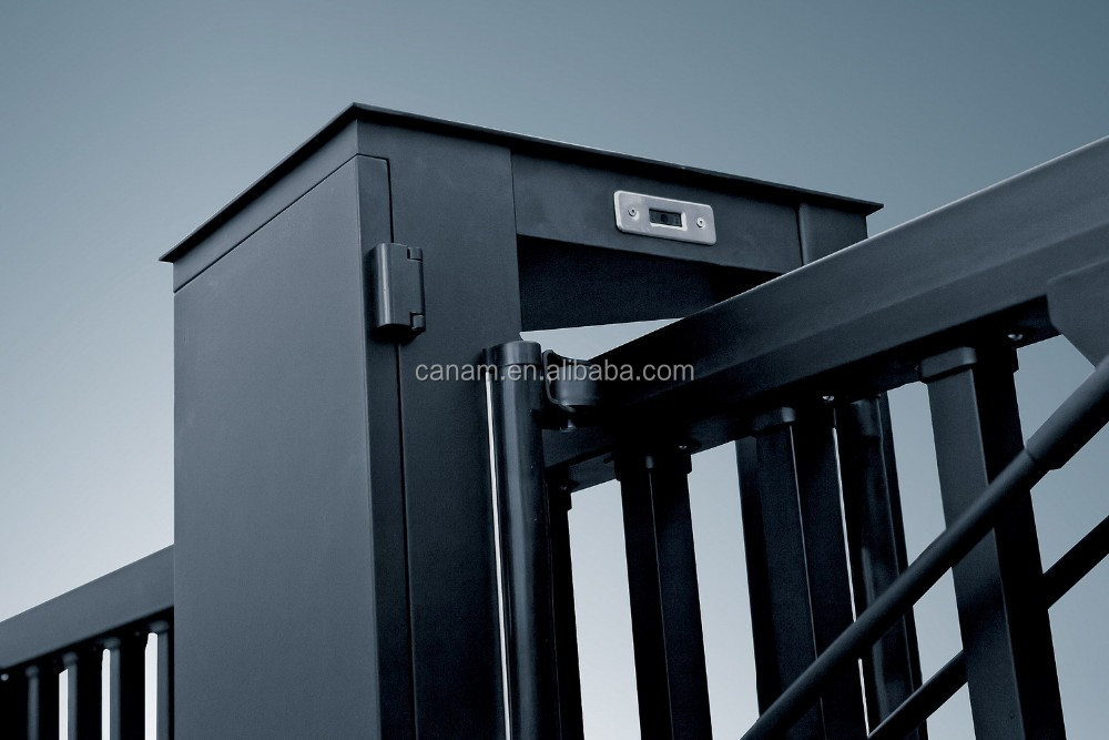 Suspended Stainless Steel Trackless Electric Gate