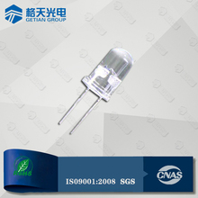 Shenzhen Getian Reliable Expert diffused len 5mm white through hole led diode