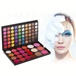 82 color mixing makeup palette with blush eyeshadow lipstick & foundation