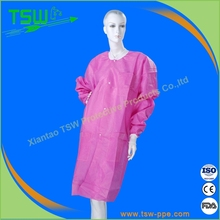 Disposable Lab Coat ,CE/FDA/ISO/NELSON