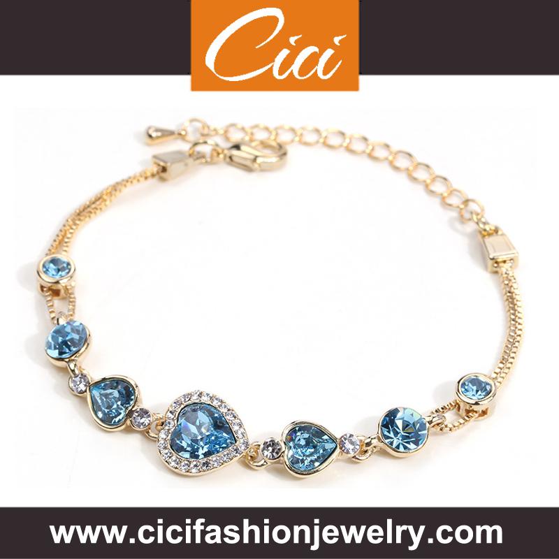 Anchor Bracelet Jewellery Gold Diamond Tanishq Designs