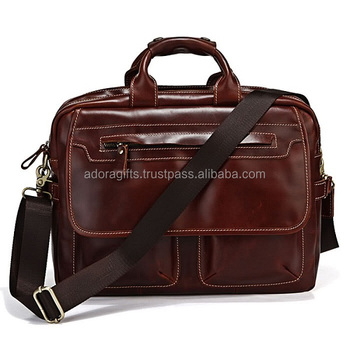 Top Quality Leather Laptop Backpack Bag Nice Style Name Bags 2018 Best