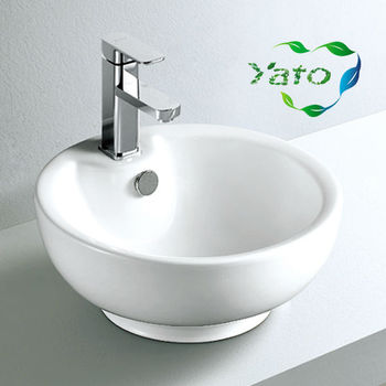 Bath Sink/hair Salon Wash Basins/toilet Set With Face Basin Stand Yc ...