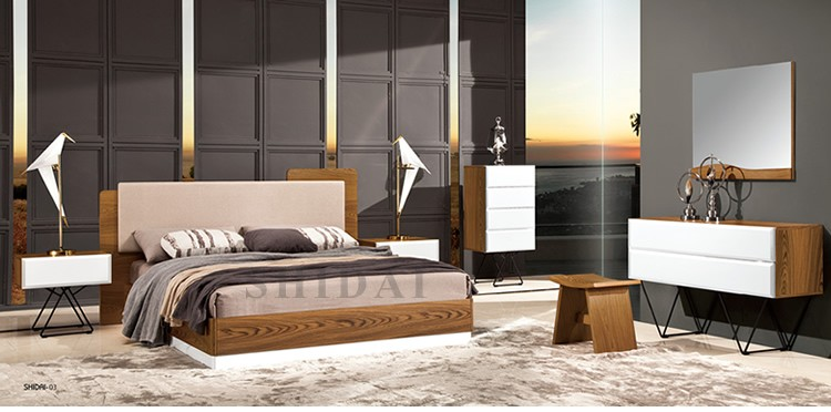 2017 Latest New Model Bedroom Furniture Wooden Designs With Best Quality And Low Price
