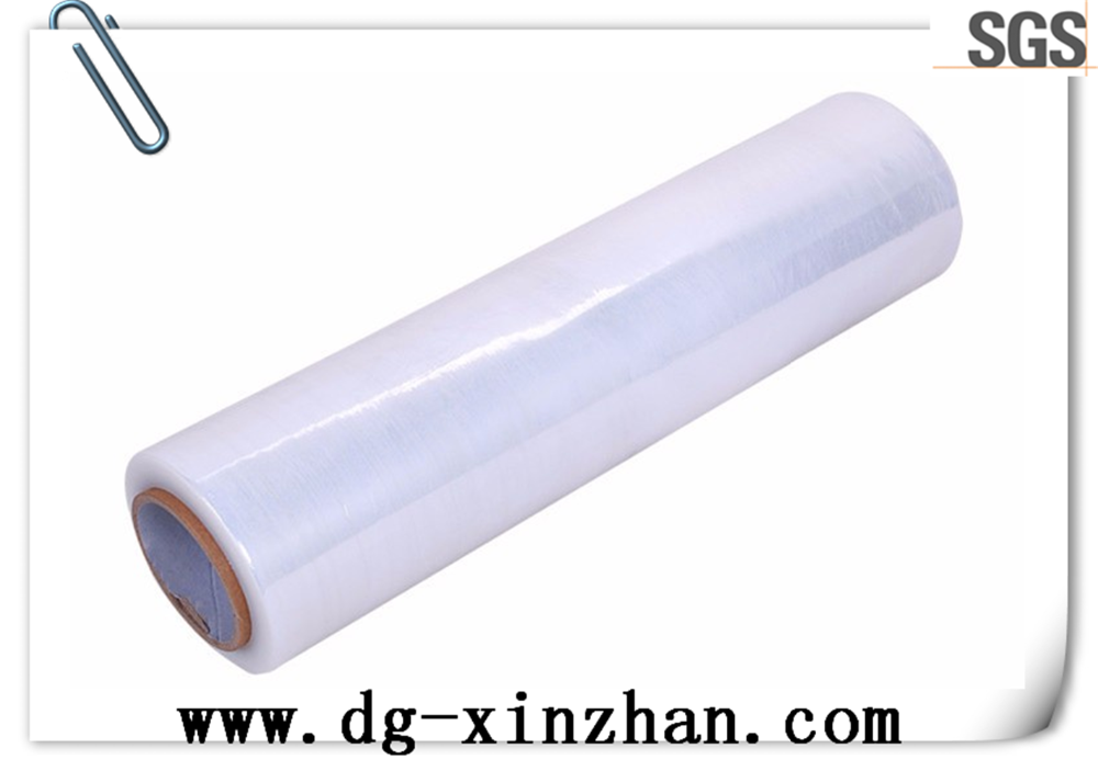 Soft Hardness and Cling Film Usage PE clear transparent stretch ceiling film