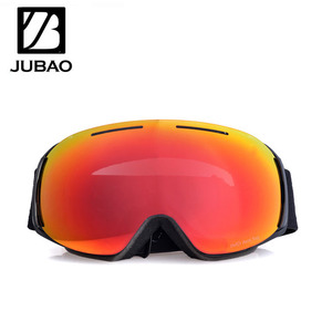 The new anti fog goggles magnetic design snow ski goggles