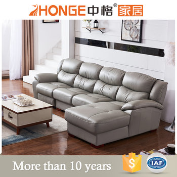 Lazy Boy Italy 4 Seater Corner Living Room Leather Electric Recliner Sofa China