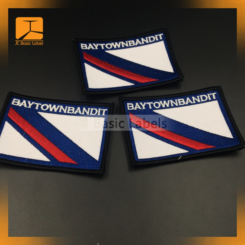Salted egg superman towel embroidery to figure custom badge buiter armbands label factory outlet badges