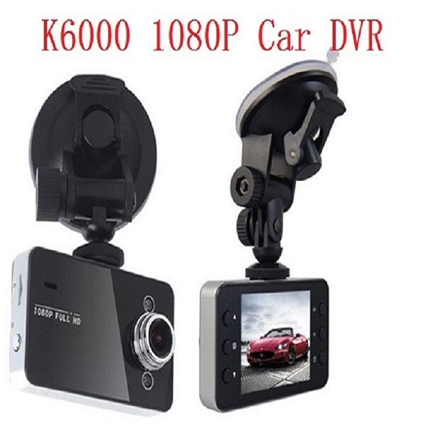 Cheap K6000 night vision car dash cam DVR 1080p full hd digital video camera recorder