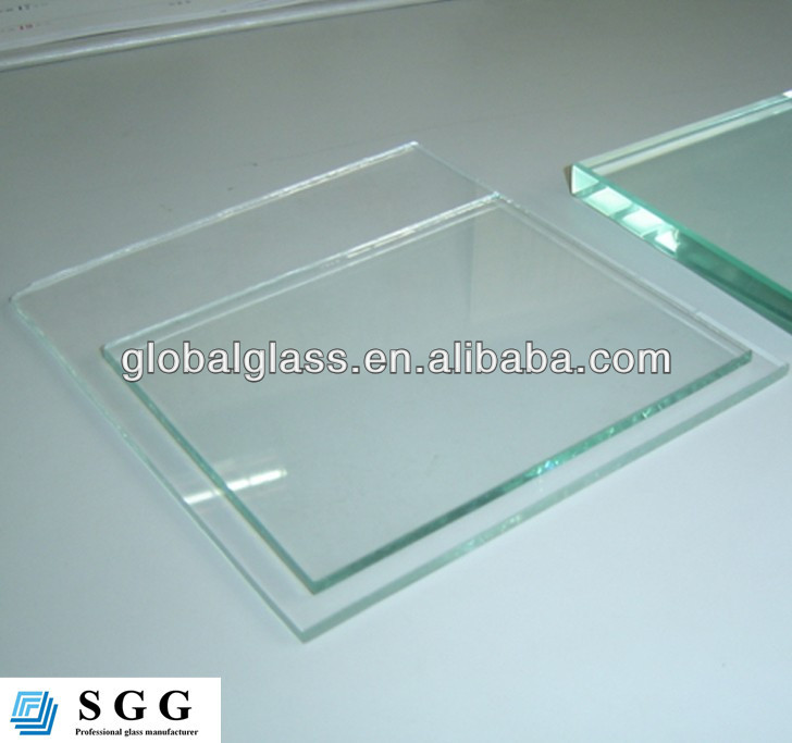 High quality 5.5mm colorless glass with float galss factory