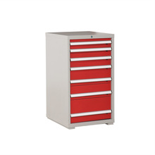 Wooden Top Tool Cabinet Cold Rolled Steel With Drawers