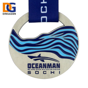 New Released cheap sports trophy swimming medal