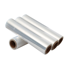 PE 17mic Hand Use Transparent Plastic Shrink Wrap Film Stretch Foil