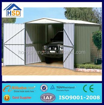 Hot Sale Modern Prefab Ready Made Metal Garage Shed Car Storage