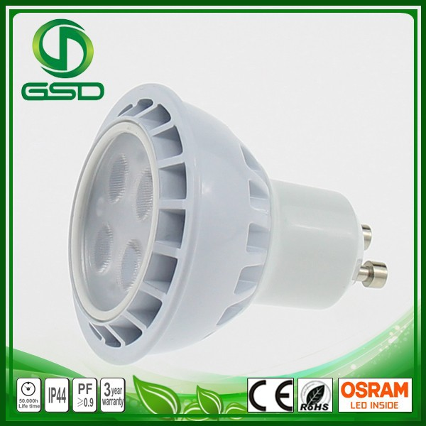 energy saving lamp gu10 mr16 e27 gu5.3 slim led recessed light 3w halogen track spotlight