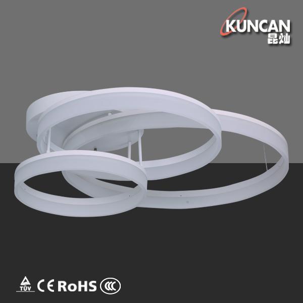 acryl phantasie 3 ring design led deckenleuchte buy kreis gef hrte deckenleuchte extravagantes. Black Bedroom Furniture Sets. Home Design Ideas