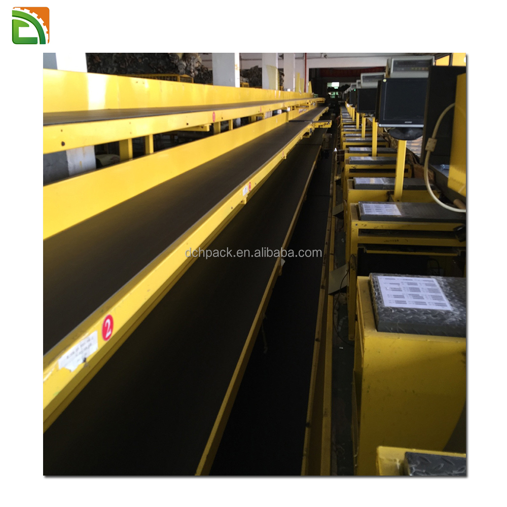 big express company for difference goods check out large conveyor belt