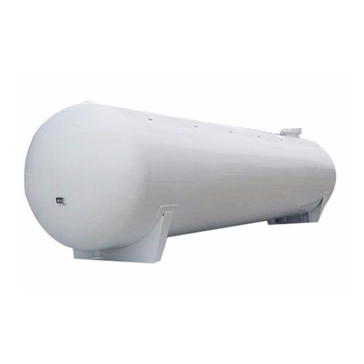 Industrial horizontal high pressure vessel 30m3 hydrogen gas storage tank with ASME standard from China manufacturer