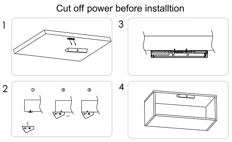 Mini Usb Rechargeable Battery Lamp,5v Led Under Cabinet Lighting ...