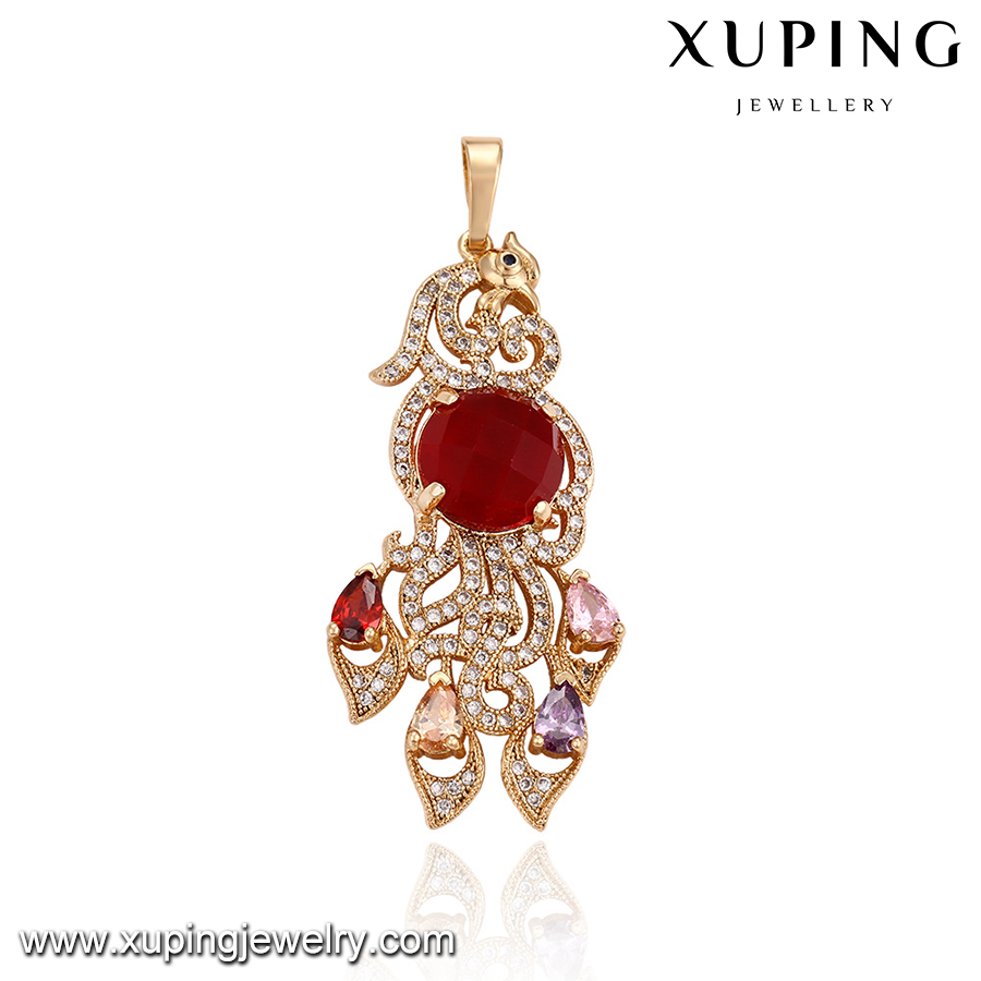 32871 Gorgeous Animal shape series fashion women accessories shiny handmade Ruby pendant